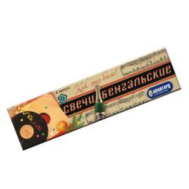 Свечи бенгальские в пакете 6 шт