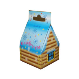 Набор конфетти в коробке Домик