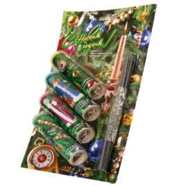 Наборы в блистере упаковка Новогодняя Елка