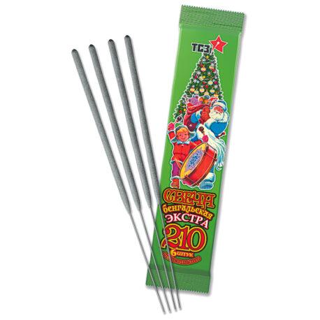 Свечи бенгальские Экстра 6 шт в пакете L210 ТСЗ TP159